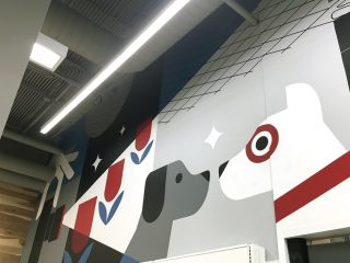 Target Store Visual Merchandising Wall Designs: Minneapolis